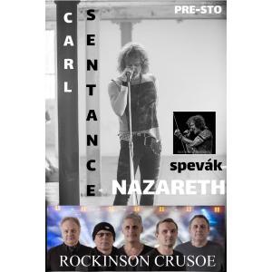Legendy rocku – večer plný hitov!  Hrajú ROCKINSON CRUSOE / Nitra