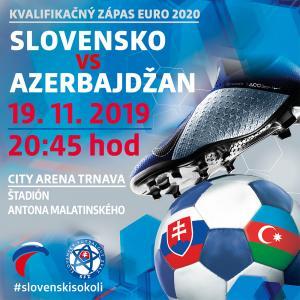 Kvalifikácia ME 2020 Slovensko - Azerbajdžan