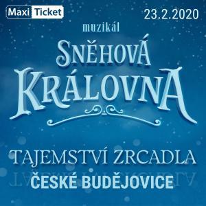 Sněhová královna - muzikál / České Budějovice