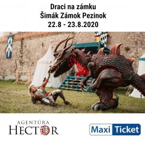 Draci na zámku 22.-23.8.2020 / Pezinok