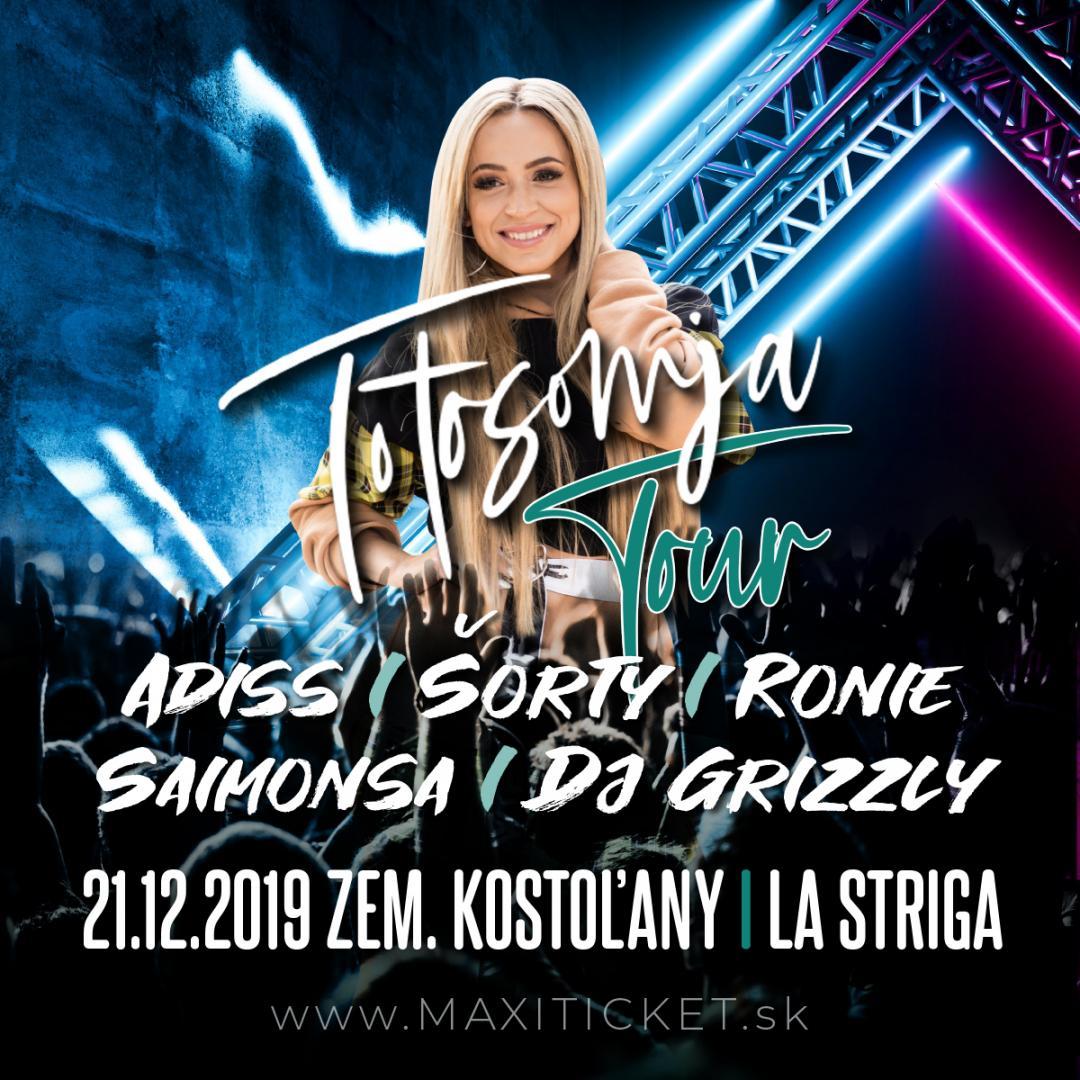 Dominika Mirgová Totosomja Tour / Zemianske Kostoľany