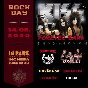 Rock Day / KISS, Konflikt, Punkreas, Hoväda.sk & ďalší