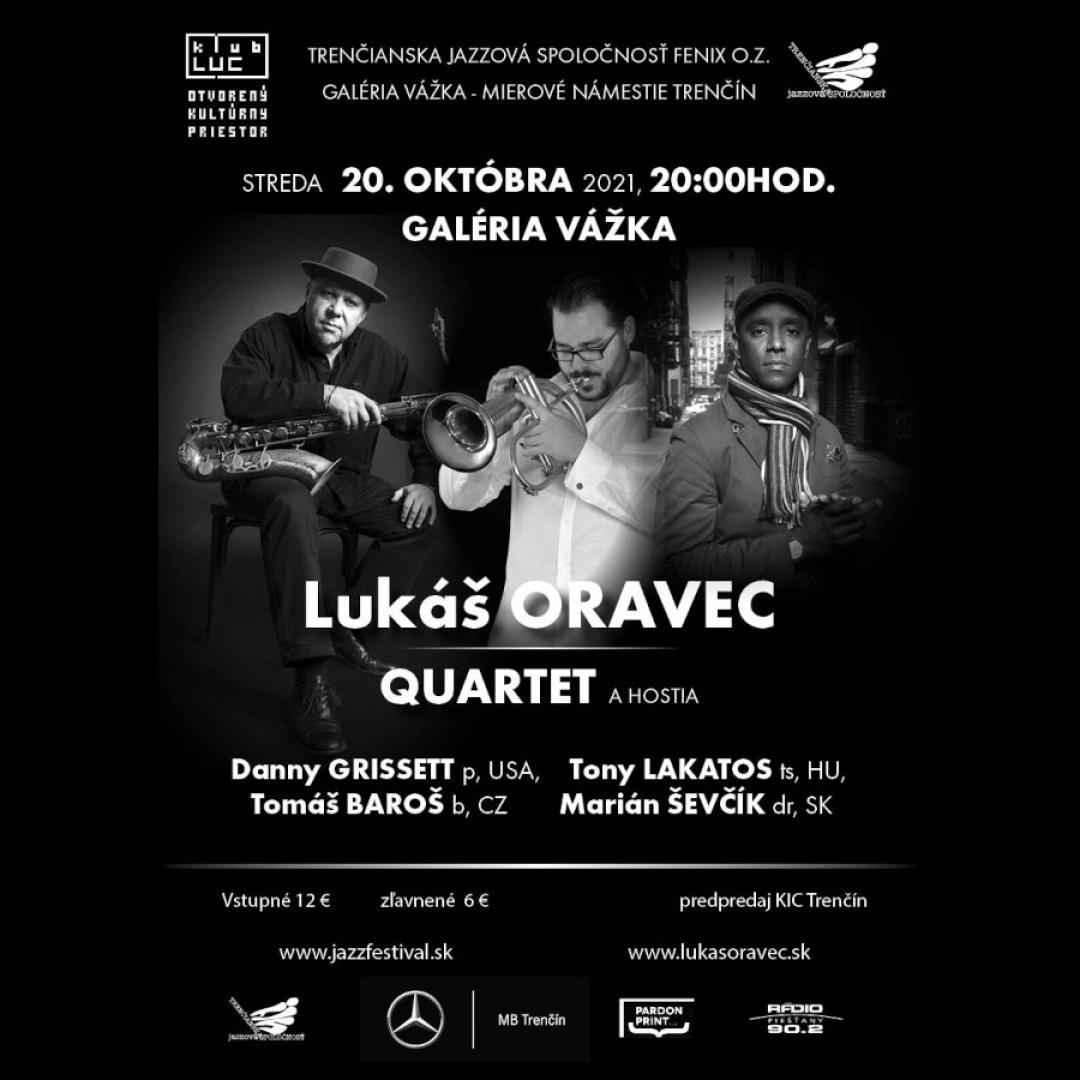 Lukáš Oravec Quartet a hostia