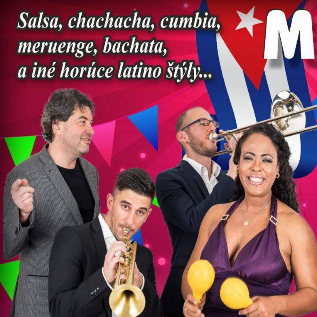 Mega Latino - Janelys y Azucar Cubana, DJ Niurka - letná záhrada
