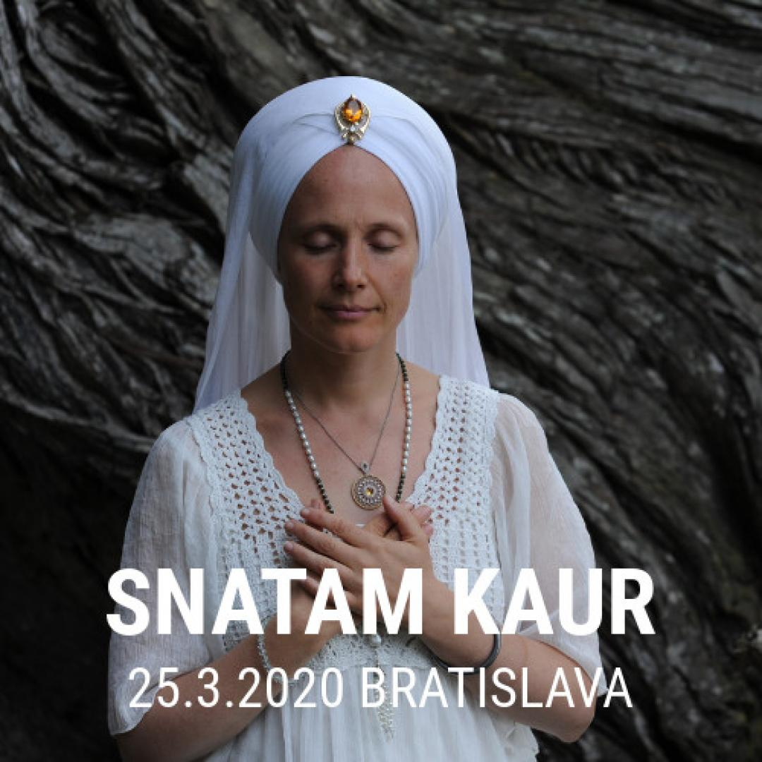 Snatam Kaur / Bratislava