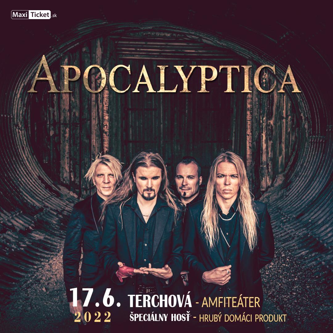 Apocalyptica (FIN) | 17.06.2022 - piatok Amfiteáter Nad Bôrami Terchová