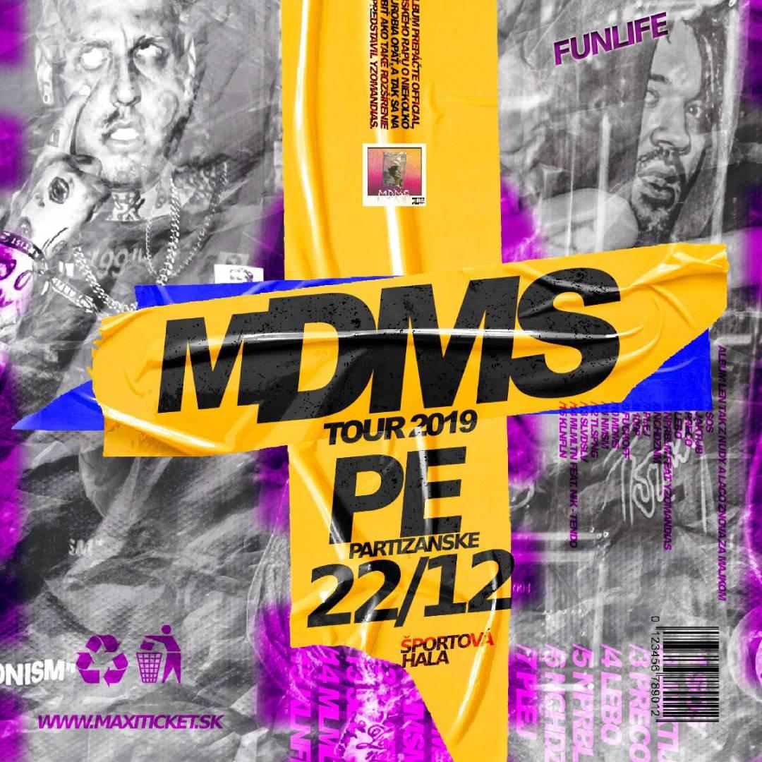 MDMS TOUR 2019 / Partizánske + NERIEŠ + SUPA&ENGERER + KILDO