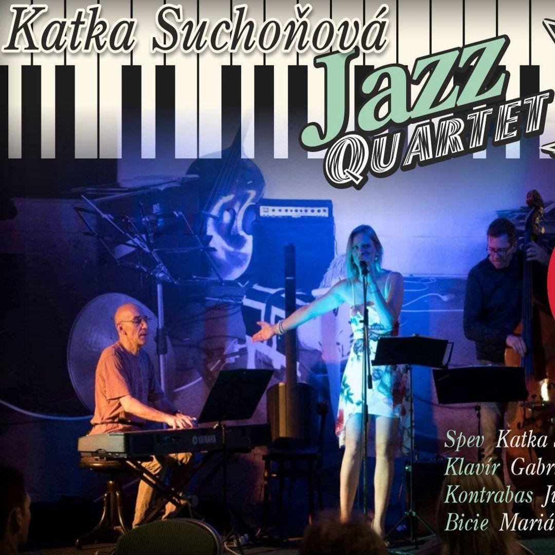 Katka Suchoňová - Jazz Quartet - Amfik Trnava Letná záhrada