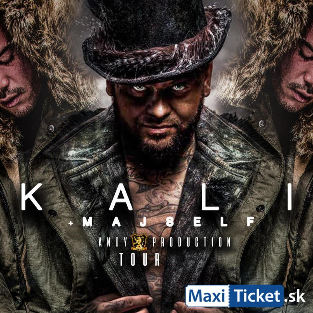 Kali & Majself ANDY production TOUR 2018 Tomášovce