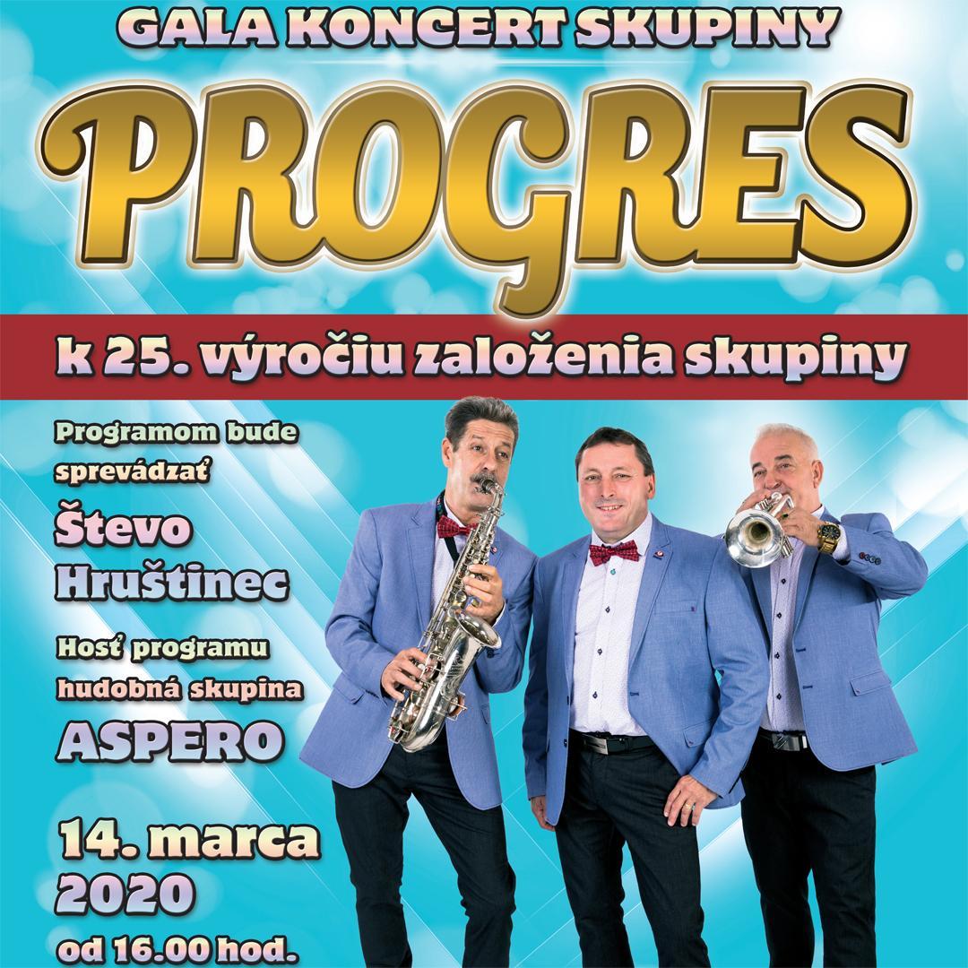 Gala koncert skupiny Progres / Banská Bystrica