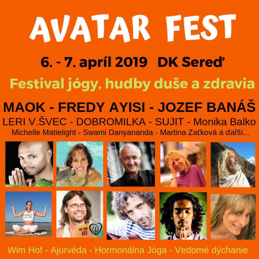Avatar Fest 2019, 6.-7.4.2019