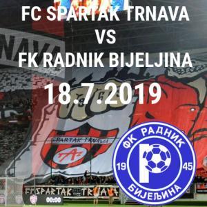 FC Spartak Trnava vs. FK Radnik Bijeljina