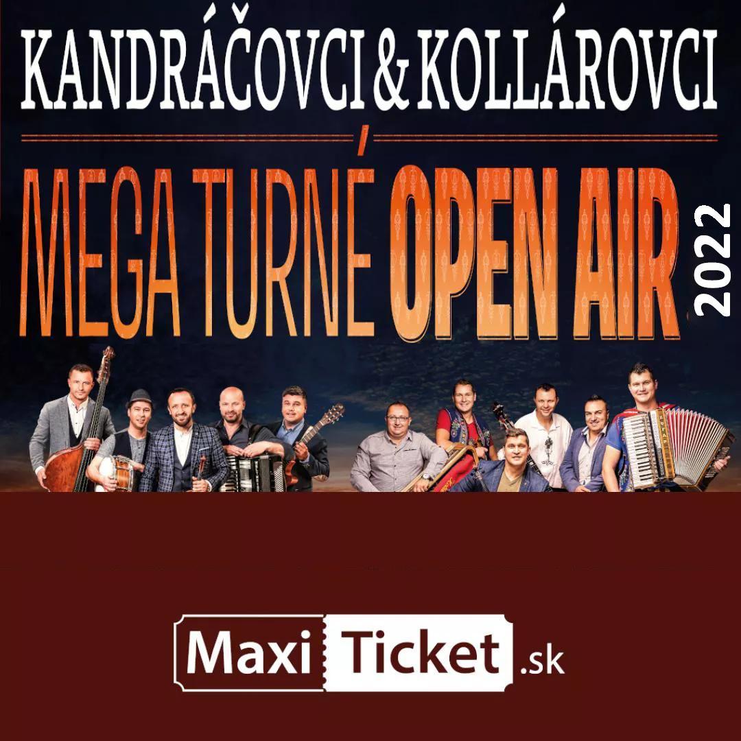 Kandráčovci & Kollárovci - Mega turné OPEN AIR 2022 | 09.07.2022 - sobota Amfiteáter Východná