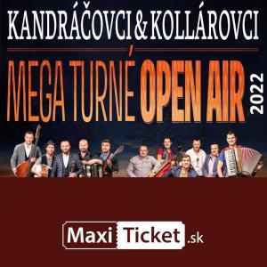 Kandráčovci & Kollárovci - Mega turné OPEN AIR 2022 - Východná