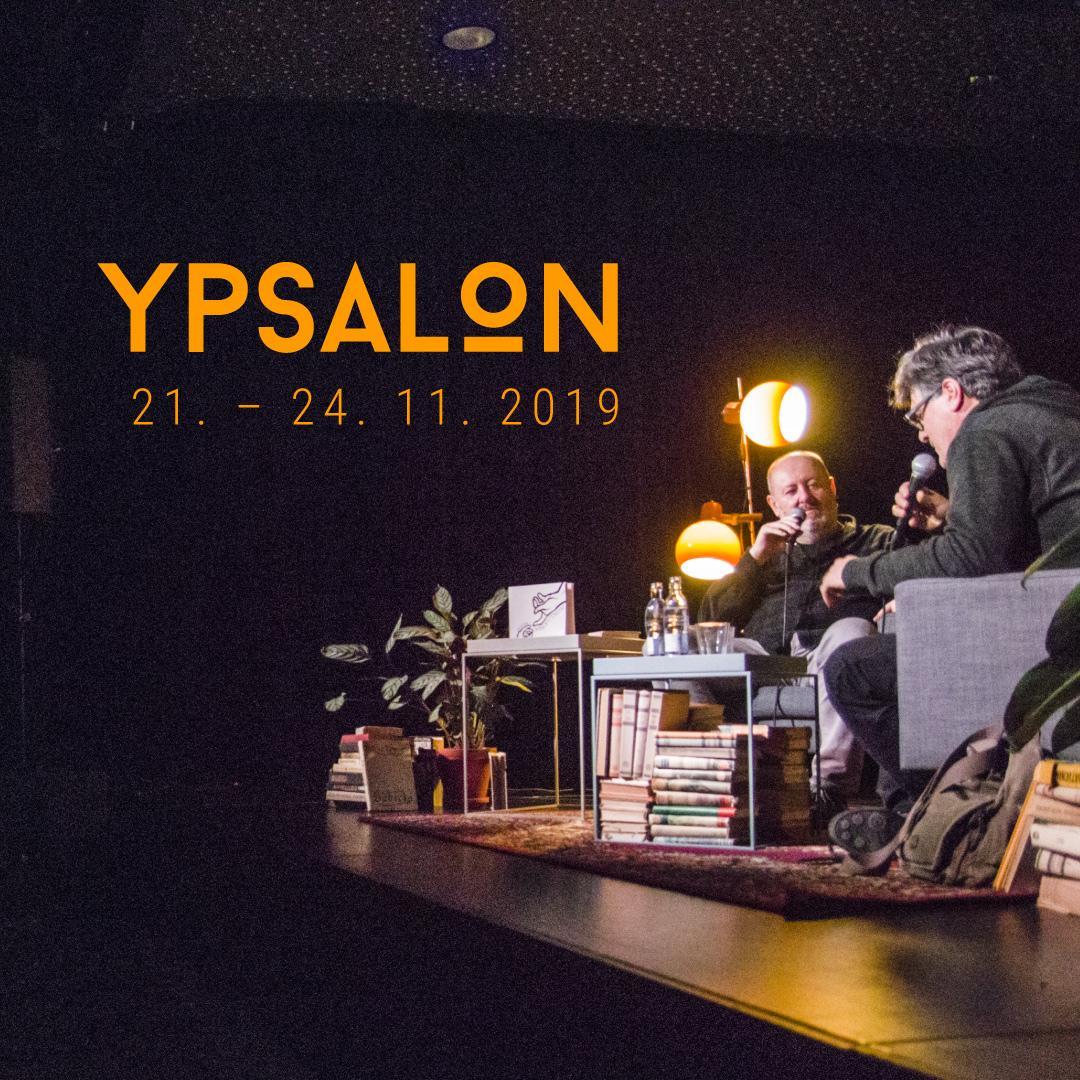 Ypsalon 2019 / festival spisovateľov 21.-24.11.2019