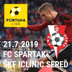 FC Spartak Trnava vs. ŠKF iClinic Sereď