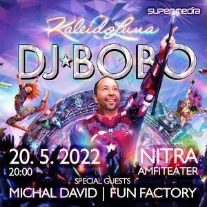 DJ BOBO - KaleidoLuna open air 2022