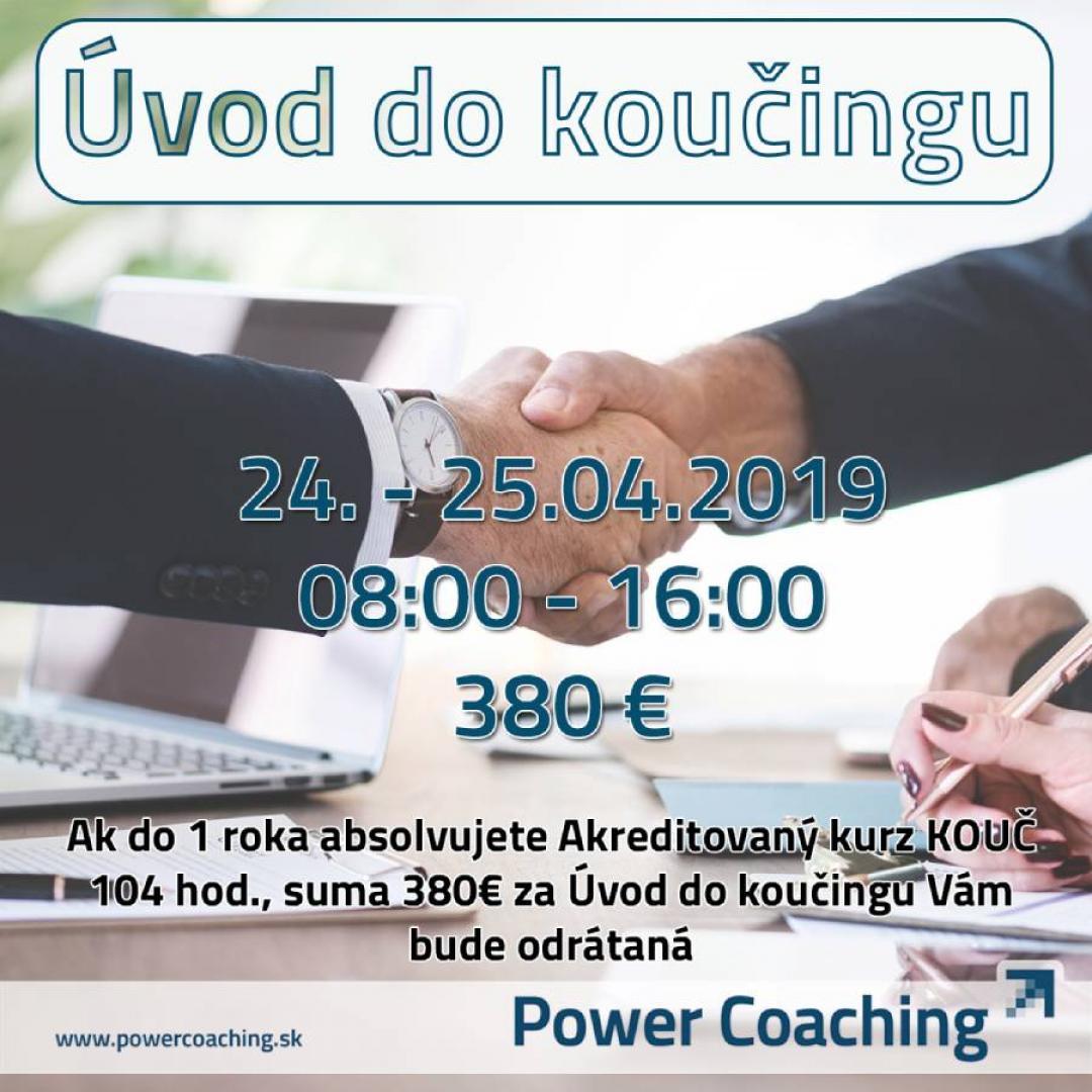 Kurz: Úvod do koučingu Košice 2 dni - 24.05.-25.05.2019