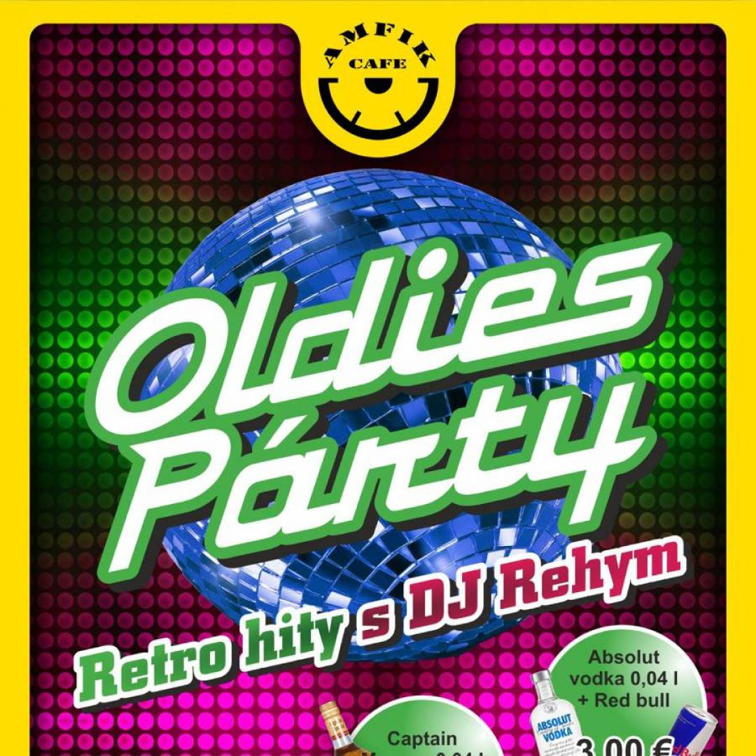 Oldies party Retro hity s DJ Rehy