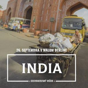 Cestovateľský večer: India