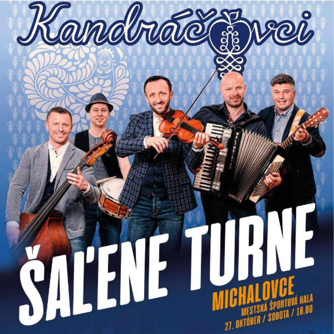 Kandráčovci - Šaľene turne, Michalovce