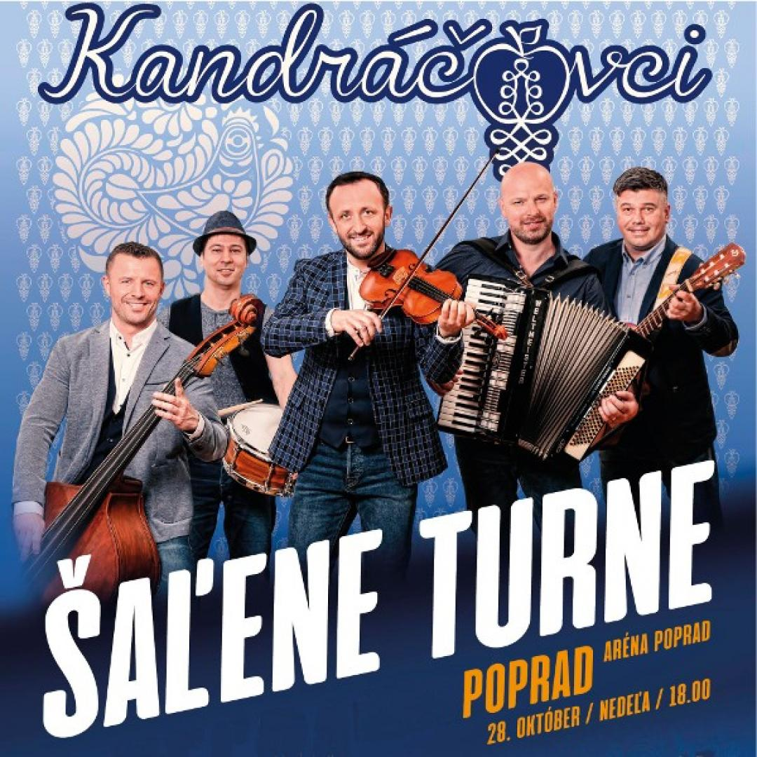 Kandráčovci - Šaľene turne, Poprad