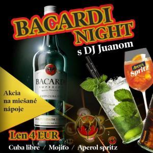 Bacardi Night s DJ Juanom