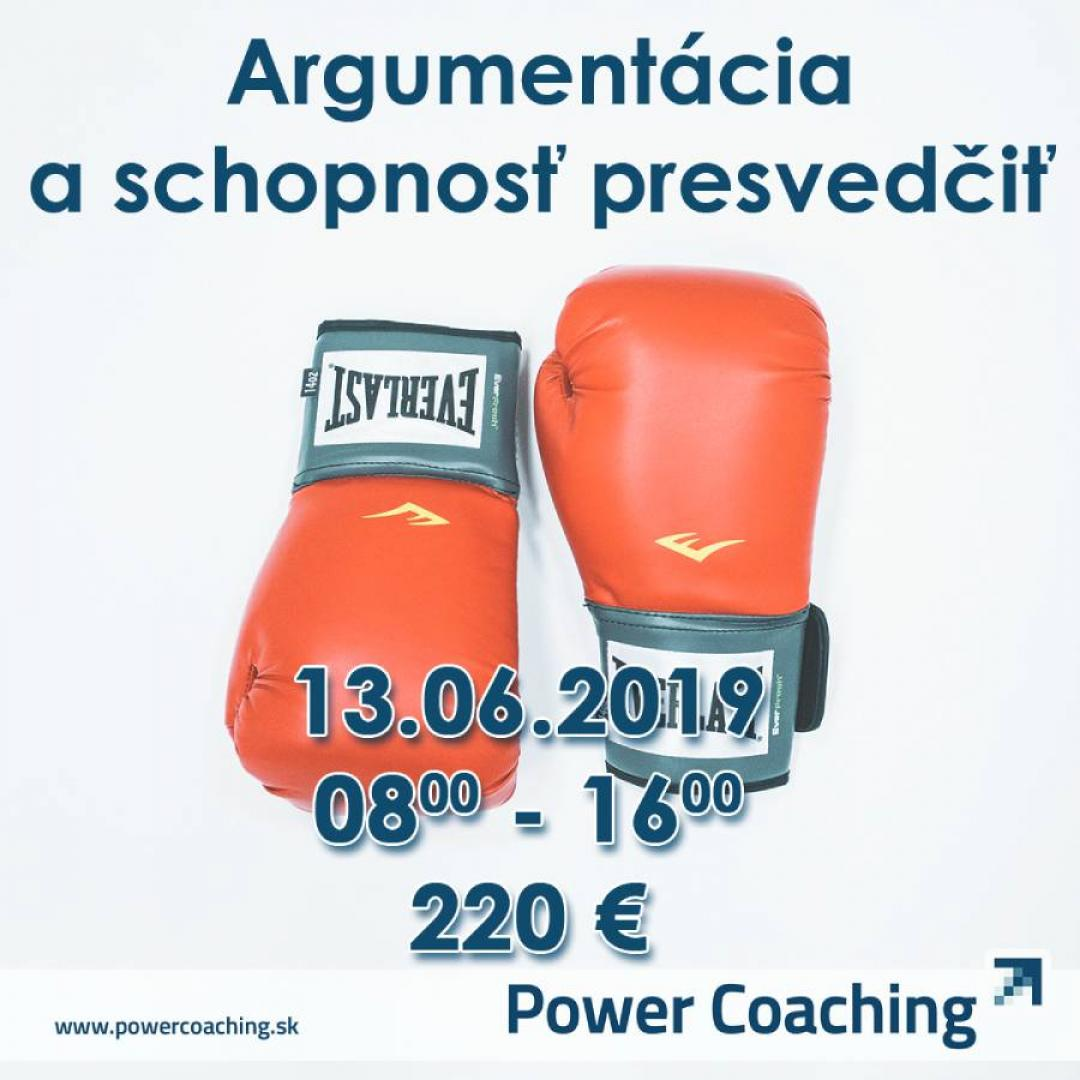 Workshop: Argumentácia a schopnosť presvedčiť