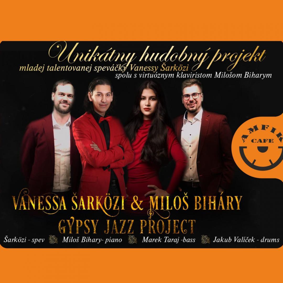 Vanessa Šarközi & Miloš Biháry - Gypsy Jazz Project