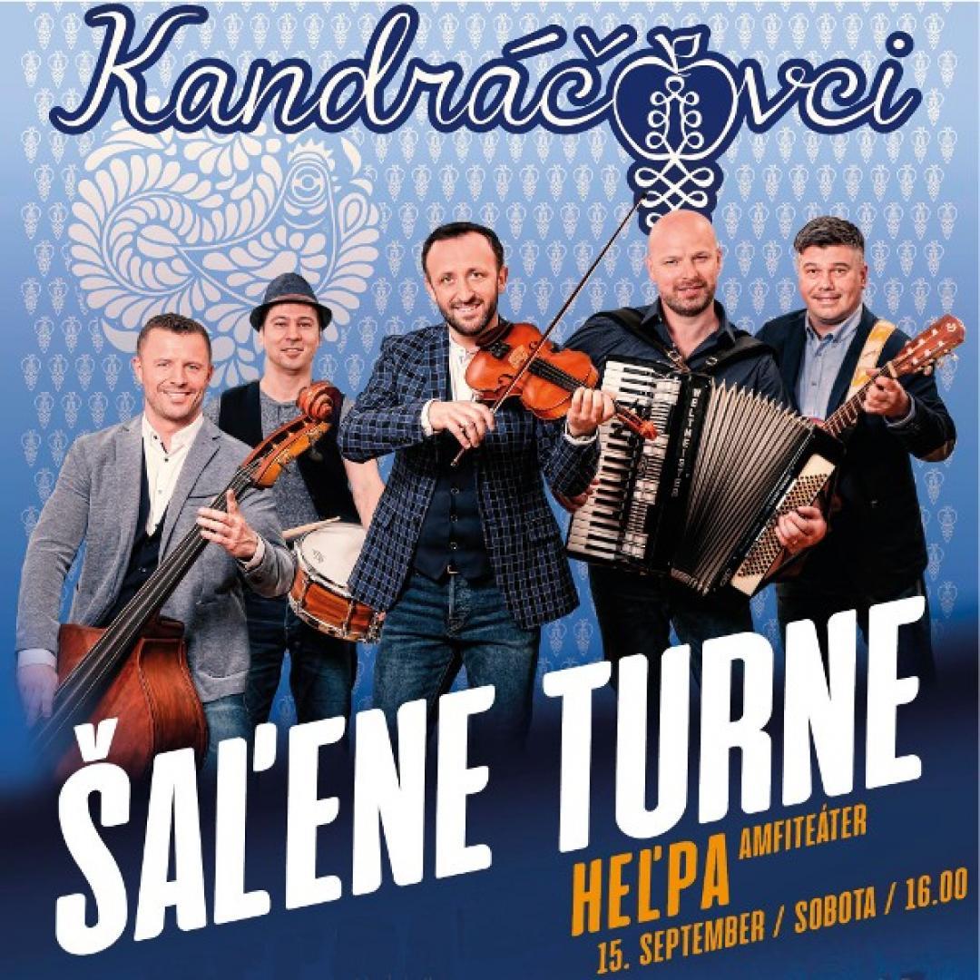 Kandráčovci - Šaľene turne, Heľpa + festival K Tebe Matka milostivá