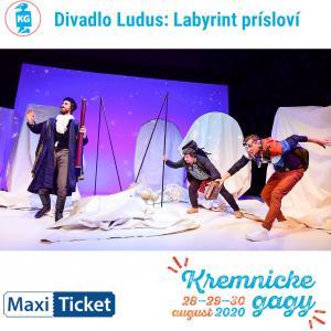 Divadlo Ludus: Labyrint prísloví