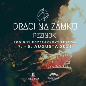 Draci na zámku Šimák Pezinok 7. - 8. 8. 2021