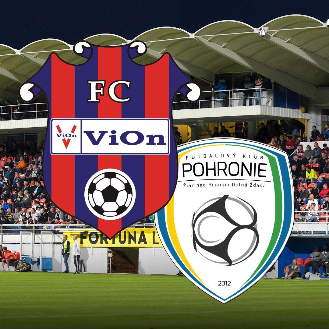 FC ViOn Zlaté Moravce-Vráble vs. FK Pohronie Dolná Ždaňa Žiar n. H