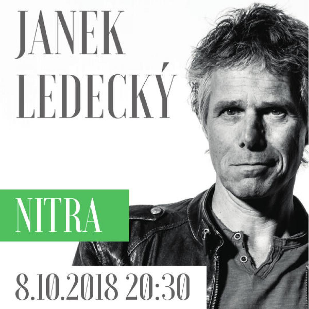 Janek Ledecký s kapelou