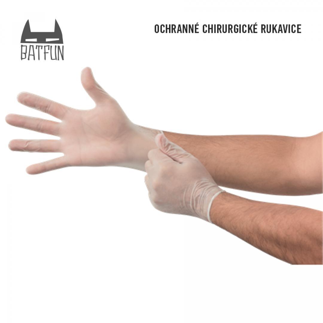 BAT FUN - Jednorazové latexové rukavice