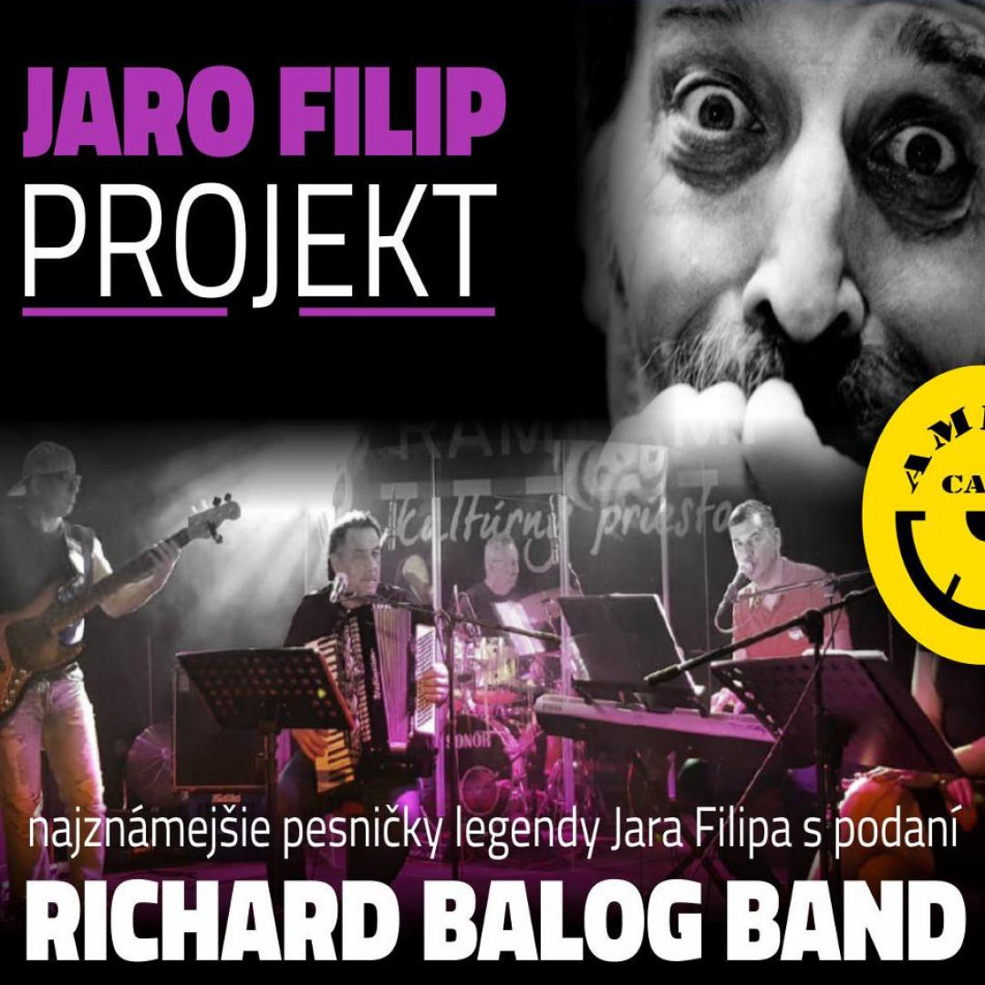 Jaro Filip Projekt - Richard Balog Band, Trnava