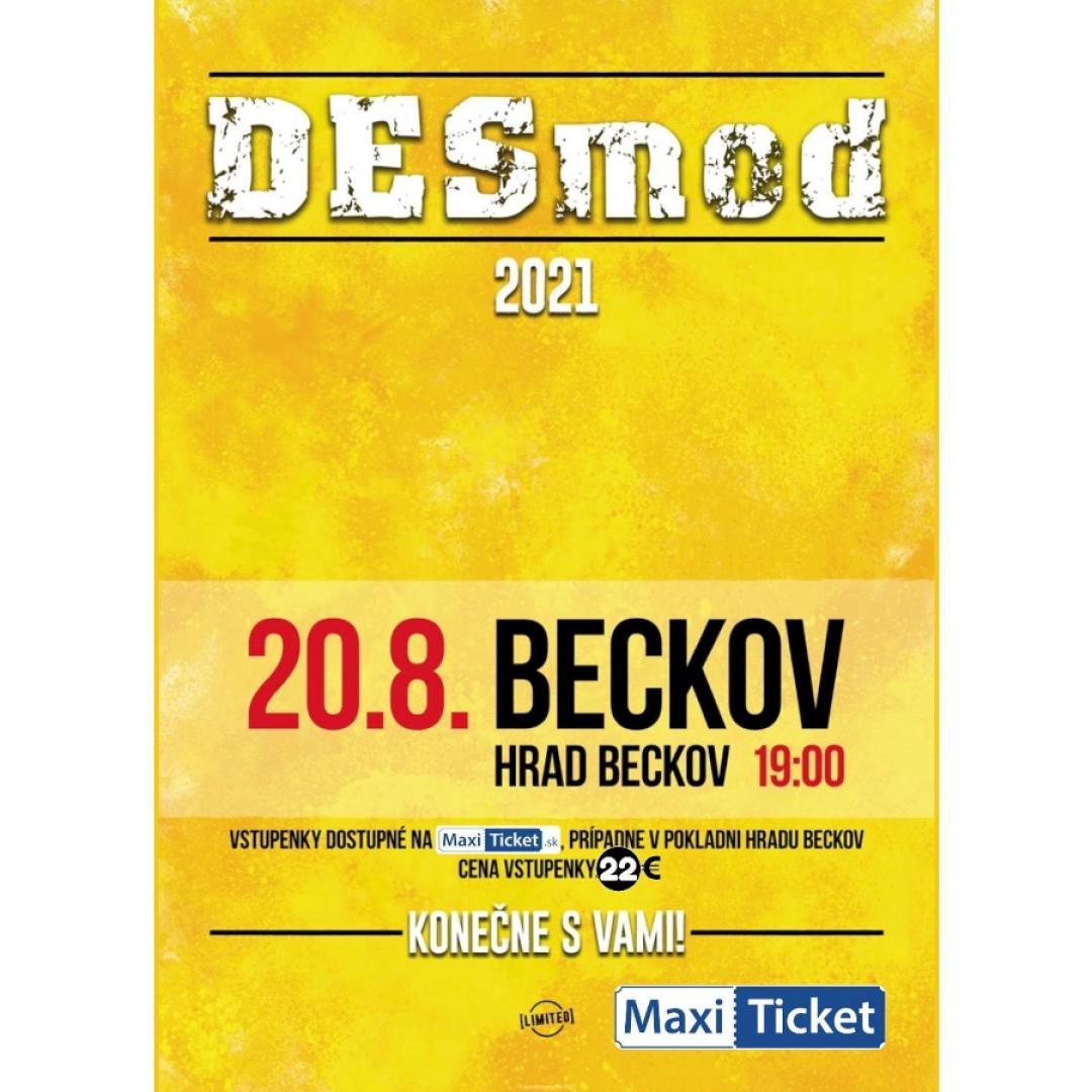 Desmod 2021 | 20.08.2021 - piatok Hrad Beckov