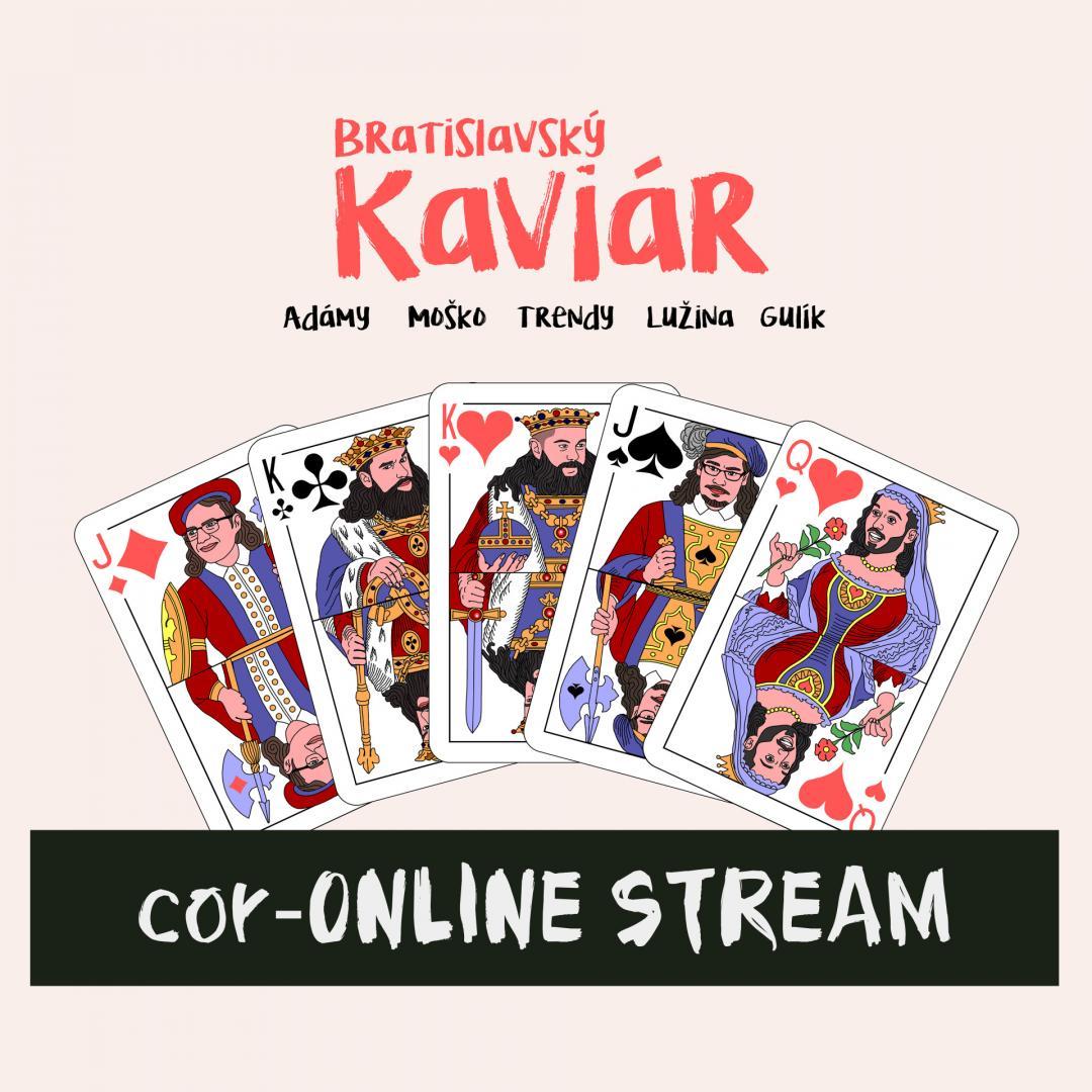 Bratislavský Kaviár Aprílový ONLINE STREAM