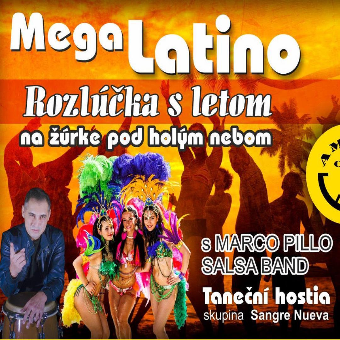 Mega Latino žúrka pod holým nebom - Amfiteáter Trnava