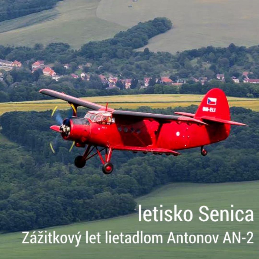 Zážitkový let lietadlom Antonov AN-2