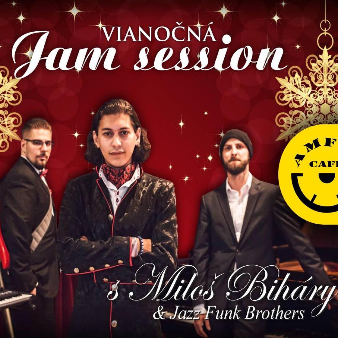 Vianočná Jam Session s Miloš Biháry Jazz Funk Brothers