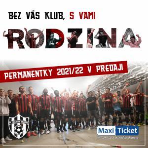 Permanentka 2021/2022