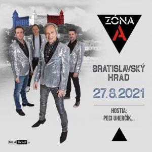 Koncert ZÓNA A / Bratislavský hrad