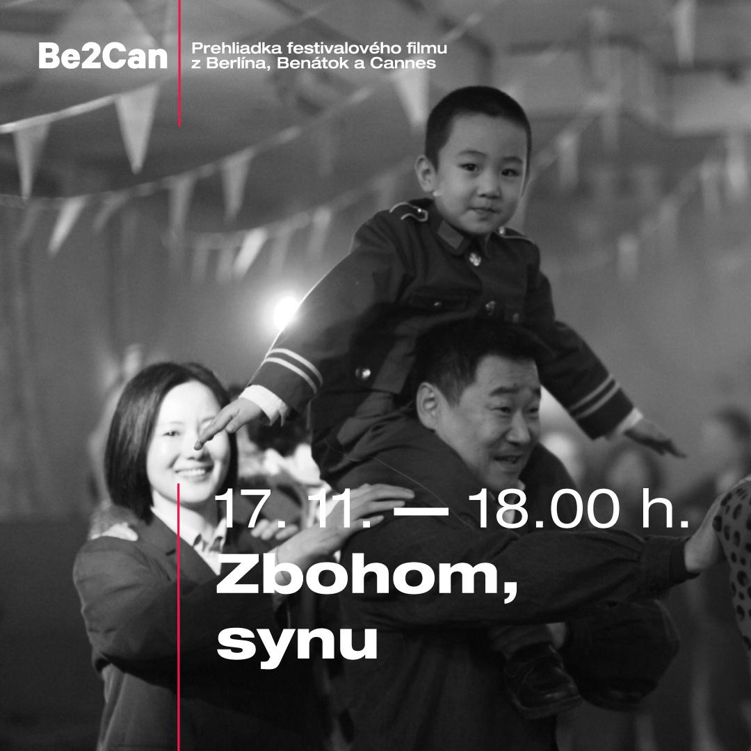 Kino Be2Can: Zbohom, synu