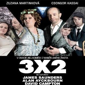 Komédia 3x2 / Bratislava