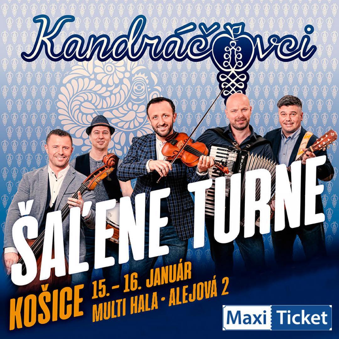 Kandráčovci - Šaľene turne, Košice