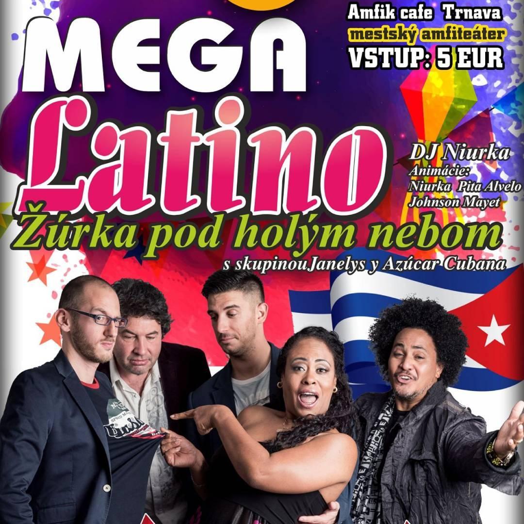 Mega Latino - Janelys y Azucar Cubana, DJ Niurka