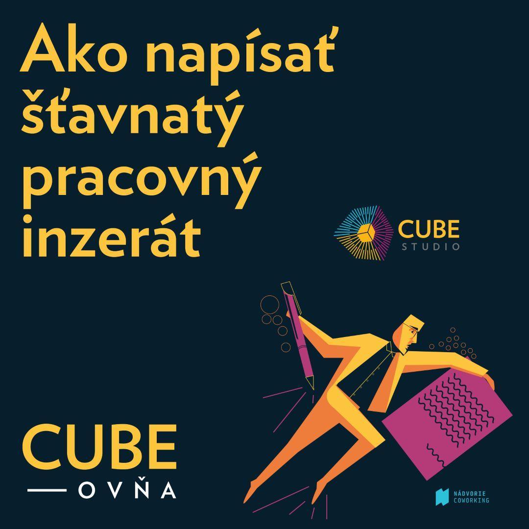 Cubeovňa: Ako napísať šťavnatý pracovný inzerát