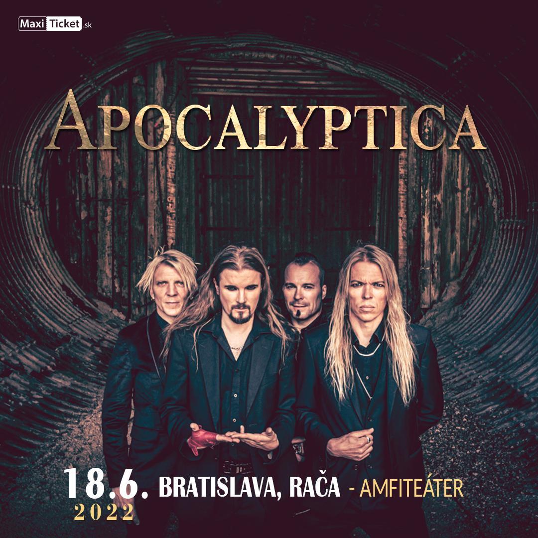Apocalyptica (FIN) / Bratislava